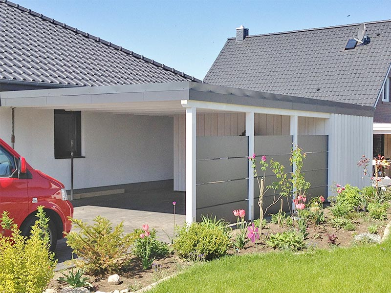 Arno Schulz GmbH & Co. KG :: Dachstuhl & Carport